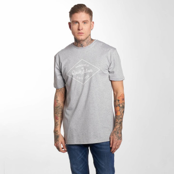 Quiksilver T-Shirty Classic Amethyst szary