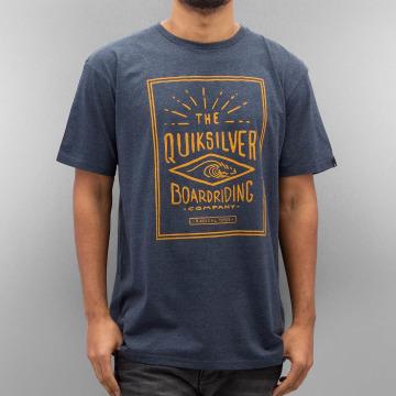 Quiksilver T-skjorter Double Lines Heather blå