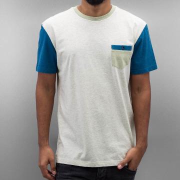Quiksilver T-skjorter Baysic Pocket hvit