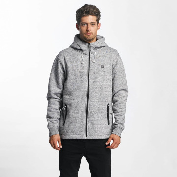 Quiksilver Zip Hoodie Kurow Sherpa grå