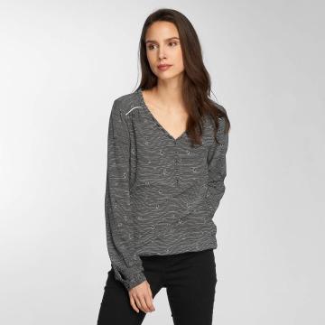 Ragwear T-Shirt manches longues Catlin noir