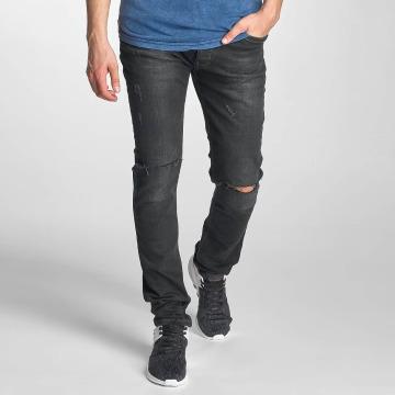 Red Bridge Slim Fit Jeans Baku èierna