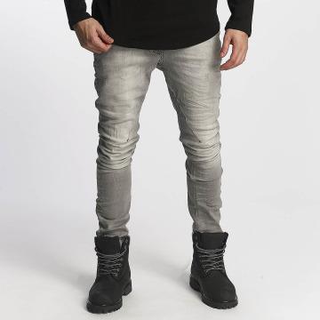 Red Bridge Slim Fit Jeans Carl šedá