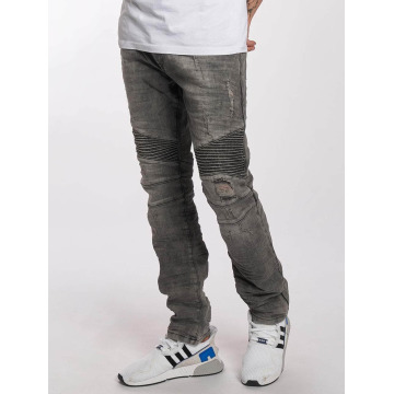 Red Bridge Slim Fit Jeans Used серый