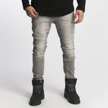 Red Bridge Slim Fit Jeans Carl grau
