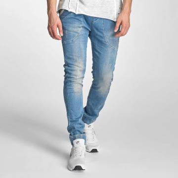 Red Bridge Slim Fit Jeans Performence modrá
