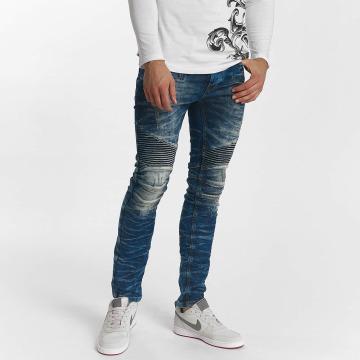 Red Bridge Straight Fit Jeans Harsh blå