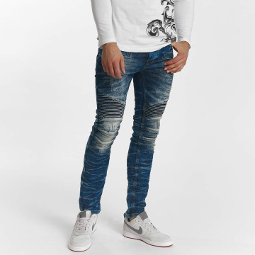 Red Bridge Straight Fit Jeans Harsh blau