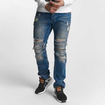 Red Bridge Straight Fit Jeans Straight Fi blau