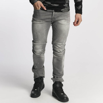 Red Bridge Straight Fit Jeans Straight Fit grau