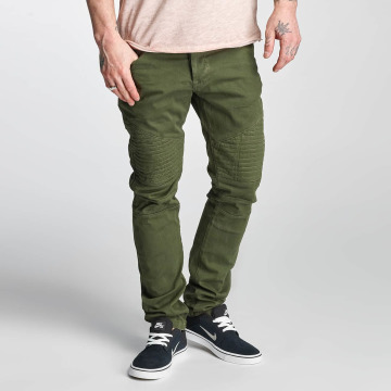 Red Bridge Straight Fit Jeans Sochumi grün