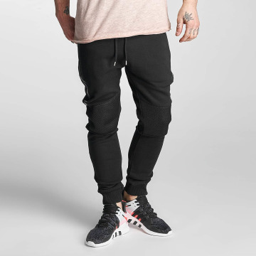 Red Bridge Sweat Pant Netted black