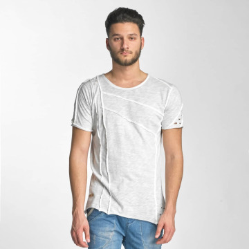 Red Bridge T-Shirt Patchwork gris