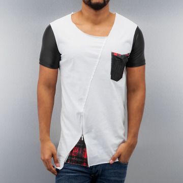 Red Bridge T-Shirt Pocket white