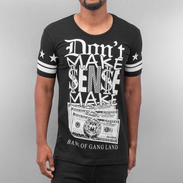 Red Bridge t-shirt Bank Of Gang Land zwart