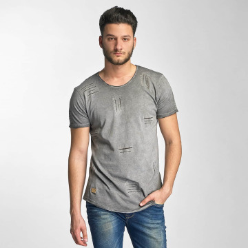 Red Bridge T-Shirty Stitched Seam szary