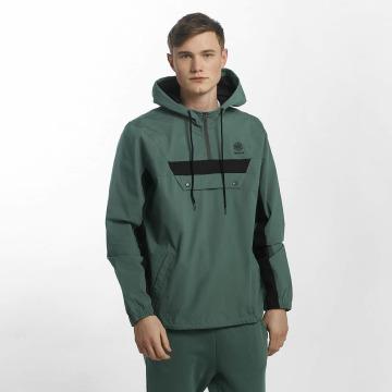 Reebok Демисезонная куртка EF 1/2 Fz зеленый