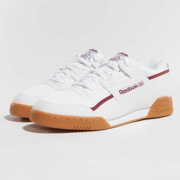 Reebok Baskets Workout Plus MVS blanc