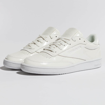 Reebok Baskets Club C 85 Patent blanc
