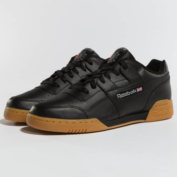 Reebok Baskets Workout Plus noir