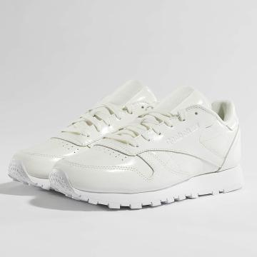 Reebok Sneaker Classic Leather Patent bianco