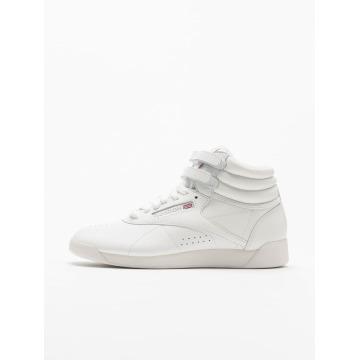 Reebok Sneaker Freestyle Hi Basketball Shoes bianco