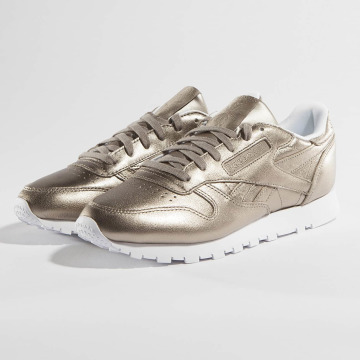 Reebok Sneaker Classic Leather Melted Metallic Pearl goldfarben