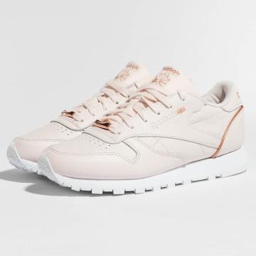 Reebok Sneaker Leather HW rosa chiaro