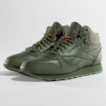 Reebok Sneakers Classic Leather TWD Mid zielony