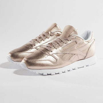 Reebok Snejkry Classic Leather Melted Metallic Pearl růžový
