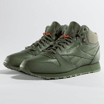 Reebok Tøysko Classic Leather TWD Mid grøn