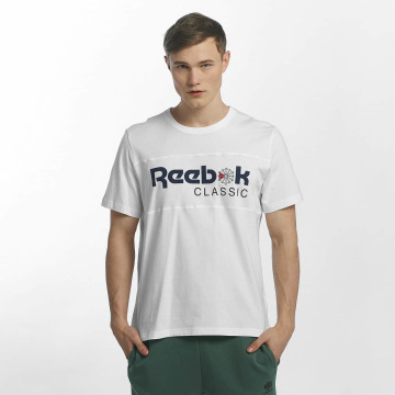 Reebok T-shirt F Franchise Iconic vit