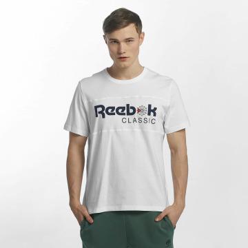 Reebok Tričká F Franchise Iconic biela