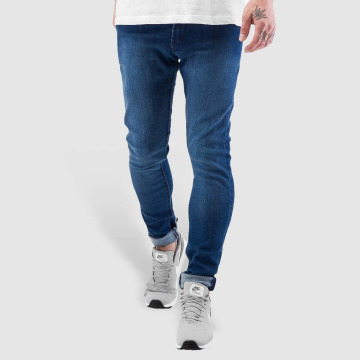 Reell Jeans Úzke/Streč Radar Stretch Super Slim Fit modrá
