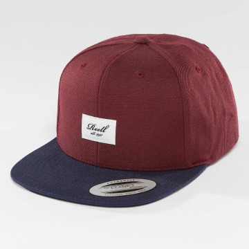 Reell Jeans Casquette Snapback & Strapback Pitchout rouge