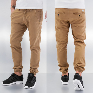 Reell Jeans Chino Jogger bruin