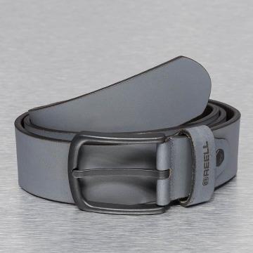 Reell Jeans Gürtel All Black grau