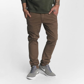 Reell Jeans Pantalon chino Flex Tapered brun