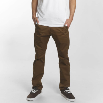 Reell Jeans Pantalon chino Straight Flex Chino brun