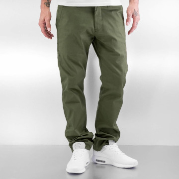 Reell Jeans Pantalon chino Straight Flex olive