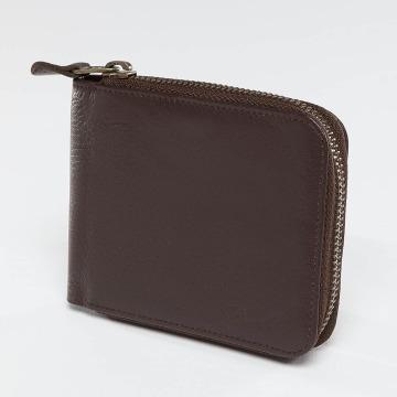 Reell Jeans Plånbok Zip Leather brun