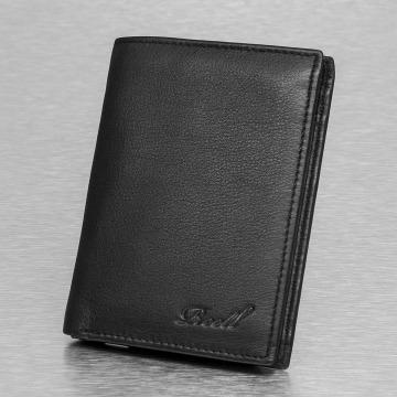 Reell Jeans portemonnee Trifold zwart