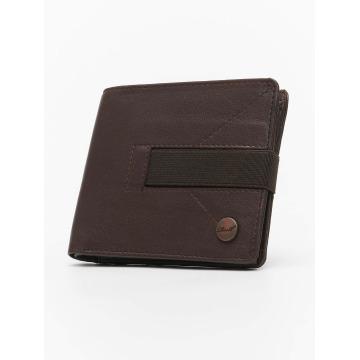 Reell Jeans Portfele Strap Leather brazowy