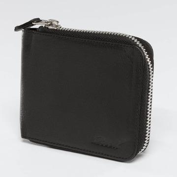Reell Jeans Portfele Zip Leather czarny
