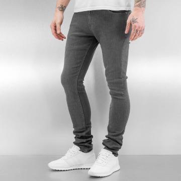 Reell Jeans Skinny Jeans Radar Stretch Super Slim Fit grau