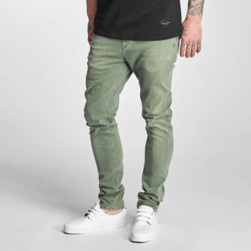 Reell Jeans Slim Fit Jeans Spider olijfgroen
