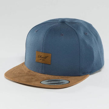 Reell Jeans Snapback Cap Suede 6 Panel blue