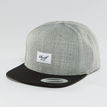 Reell Jeans Snapback Cap Pitchout 6 Panel gray