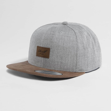 Reell Jeans Snapback Cap Suede grey