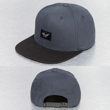 Reell Jeans snapback cap Pitchout 6-Panel grijs